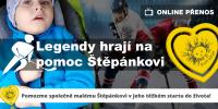Benefiční hokejový zápas pro Štěpánka - Happy Cup